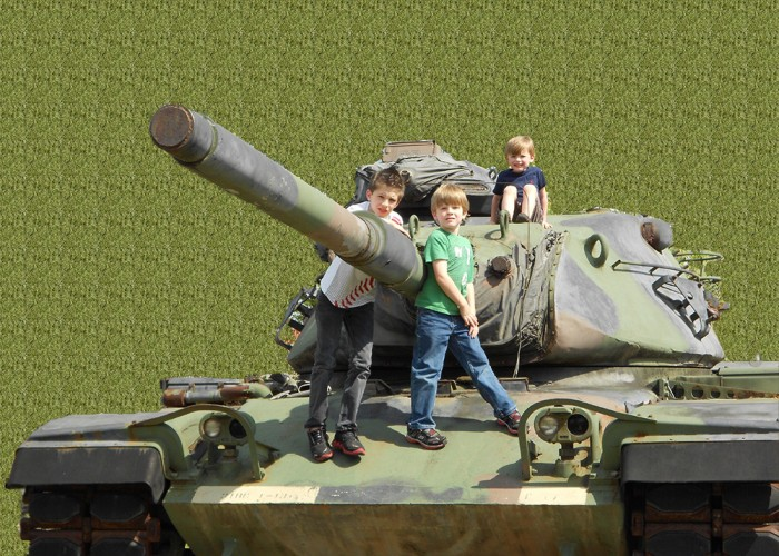 Army Tank Boys | Adobe Photoshop CS5