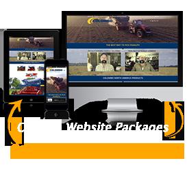 image of custom website design package