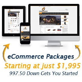 ecommerce website packages