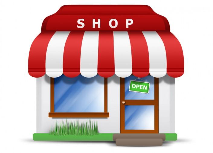 image of a business shop open marketing tips georgia web development