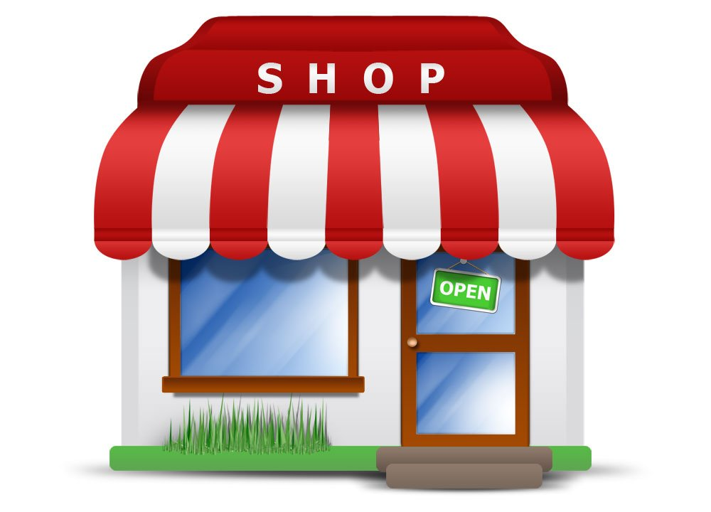 image of a business shop open marketing tips georgia web development