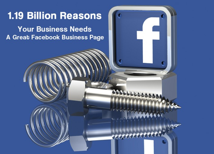 image of facebook business pages georgia web development fb icon and silver parts