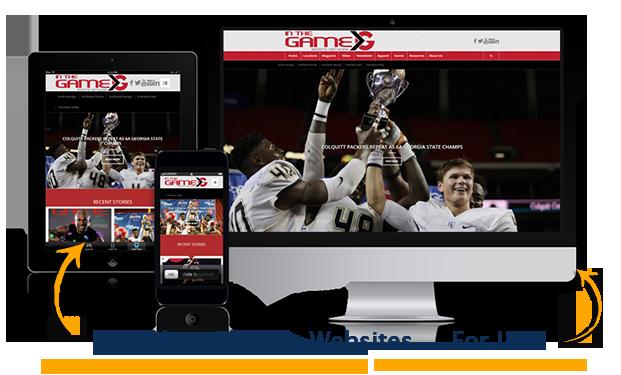 image of custom website package deal