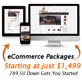 image of responsive ecommerce website