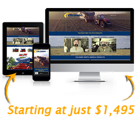 image of custom website design package