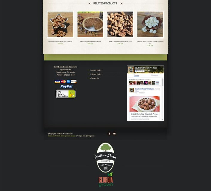 image of eCommerce website portfolio project