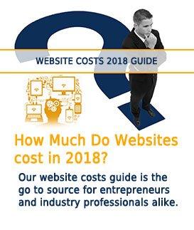 website costs guide 2018